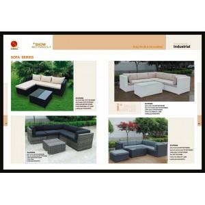 rattan sofa series 1
